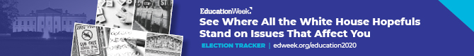 Education Week Interactive 2020 Election Tracker