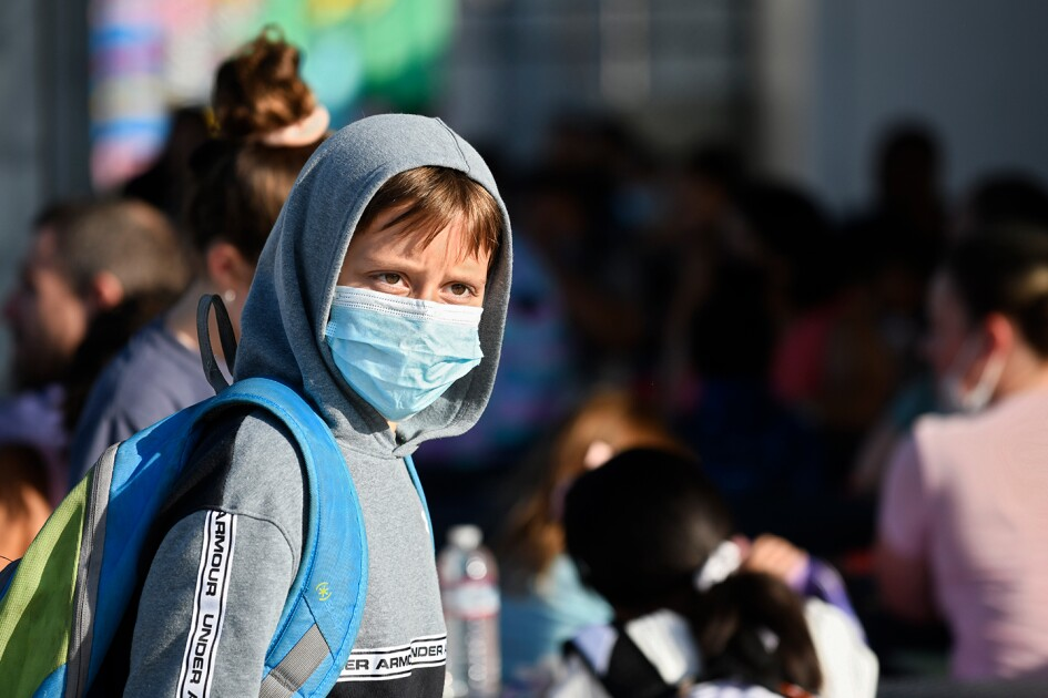 California Students Unfazed by Mask Rule. It's 'Second Nature' Now