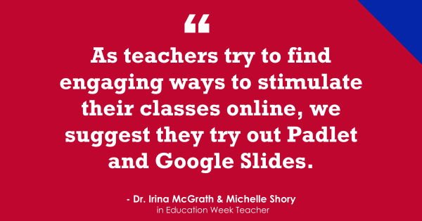 Teacher-Recommended Tools for Online Learning (Opinion)