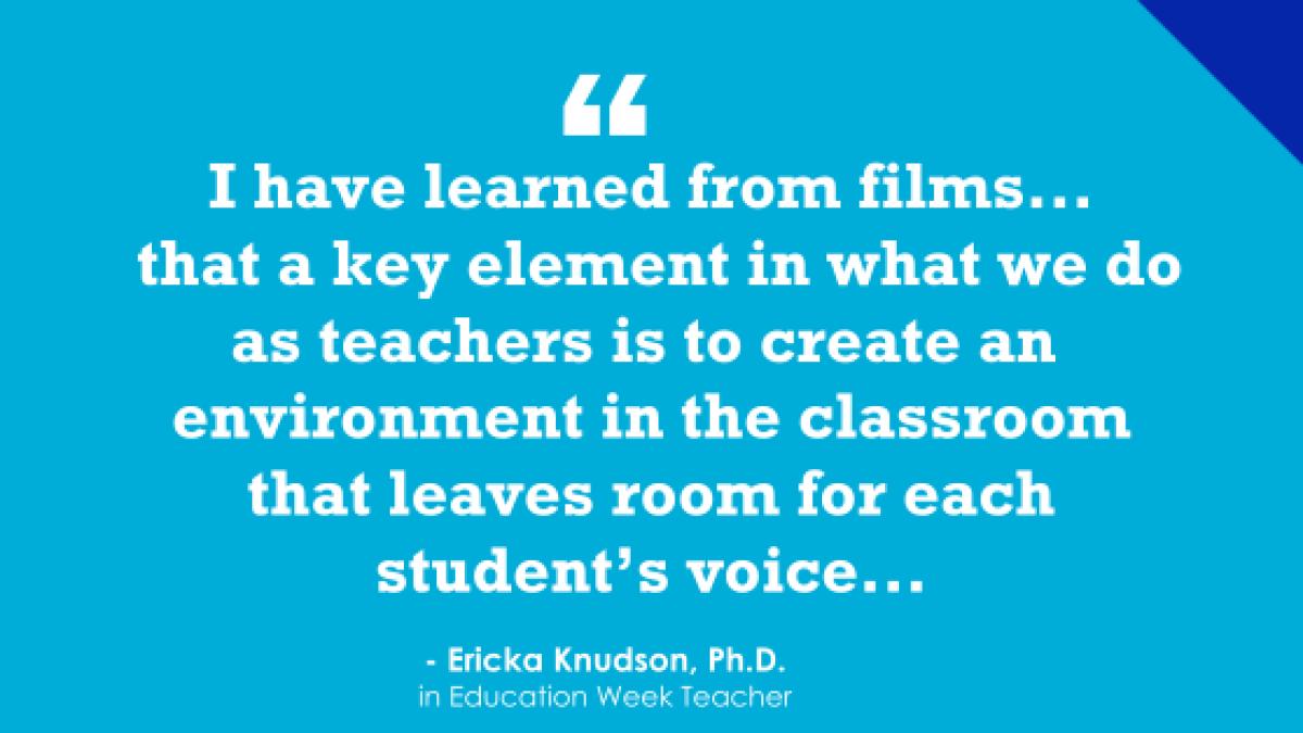 Movies That Can Teach the Teachers (Opinion)