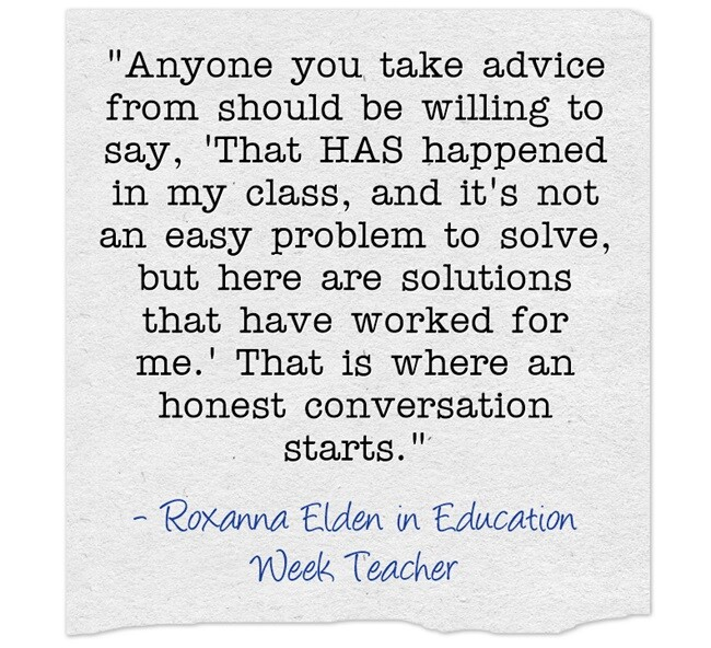 Q&A Collections: Advice for New Teachers (Opinion)