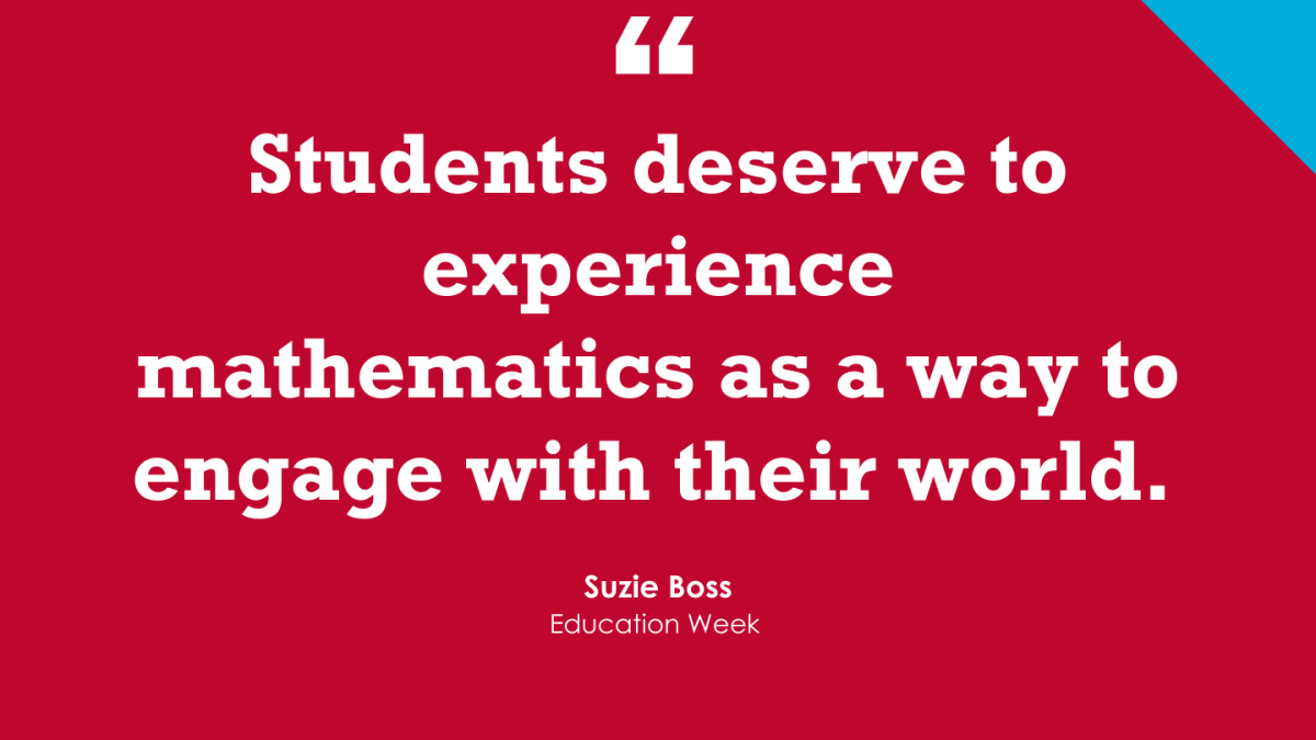 Don't 'Make the Math Classroom a Project-Based-Learning-Free Zone' (Opinion)