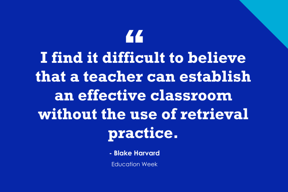Ten Ways to Use Retrieval Practice in the Classroom (Opinion)