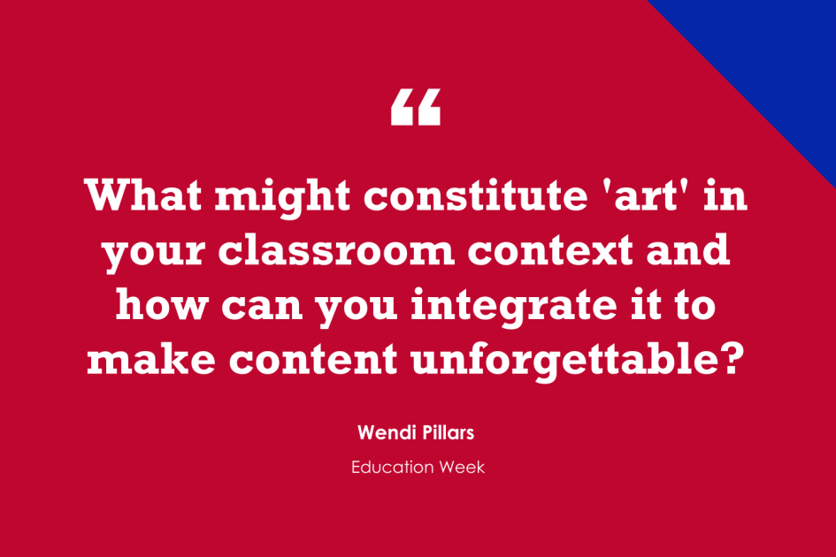 13 Ways to Use Art in Content Classes (Opinion)
