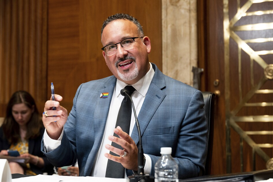 Shout of 'Racist' Marks Tense Exchange Between Miguel Cardona, GOP on Critical Race Theory